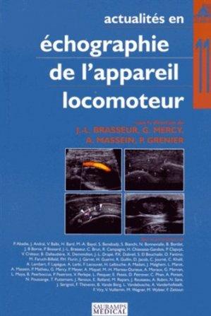 Actualités en échographie de l'appareil locomoteur Tome 11-sauramps medical-9782840239895