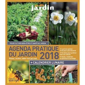 Agenda pratique du jardin 2018-marie claire-9791032301128