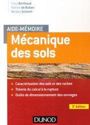 Aide-mémoire - Mécanique des sols