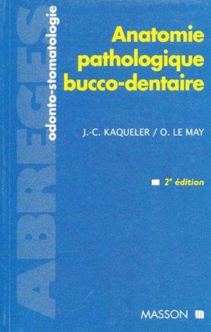 Anatomie pathologique bucco-dentaire-elsevier / masson-9782225835186