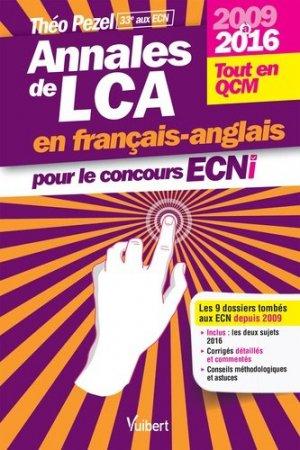 Annales de LCA en français-anglais pour le concours ECNi-vuibert-9782311660357