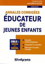 Annales corrig es ducateur de jeunes enfants st phanie for Educateur de jeunes enfants
