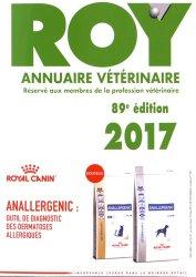 Annuaire vétérinaire Roy 2017