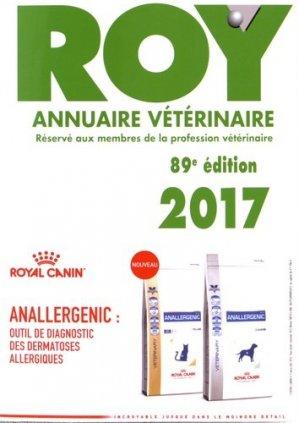 Annuaire vétérinaire Roy 2017-du point veterinaire-9782863263709