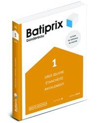 Batiprix 2018 Volume 1