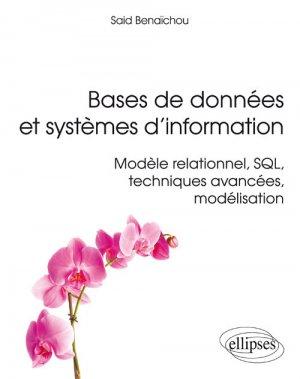 Bases de données et systèmes d'information - Modèle relationnel, SQL, techniques avancées, modélisation-ellipses-9782340017825