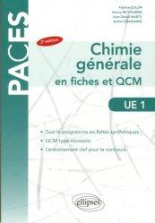 Chimie générale en fiches et QCM  UE1