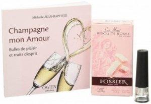 Champagne, mon amour : le coffret