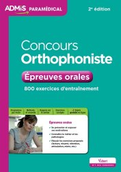 Prix concours orthophonie