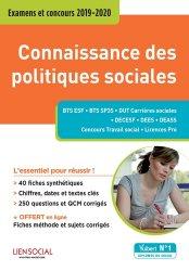 Connaissance des politiques sociales : examens et concours 2019-2020