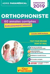 Concours orthophoniste 2019