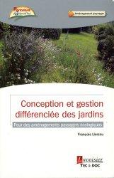 Conception et gestion différenciée des jardins