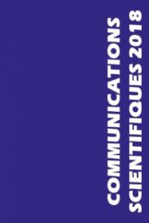 Communications scientifiques 2018 MAPAR