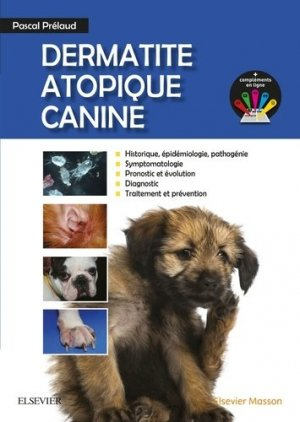 Dermatite Atopique Canine-elsevier / masson-9782294751585