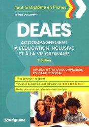 DEAES : accompagnement à l'éducation inclusive et à la vie ordinaire : diplôme d'Etat d'accompagnant éducatif et social