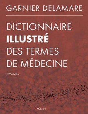 Dictionnaire illustré des termes de médecine-maloine-9782224034344