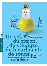 Du sel du vinaigre du bicarbonate de soude shea zukowski 9782501085601 marabout livre - Bicarbonate de soude technique ...