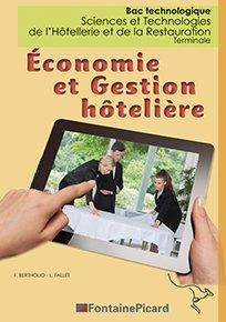 Economie et Gestion hôtelière Terminale STHR-fontaine picard-9782744629075
