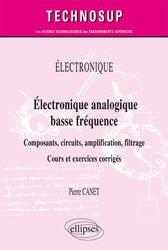 Électronique analogique basse fréquence