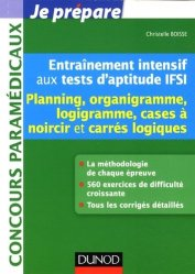 Entra�nement intensif aux tests d'aptitude IFSI-dunod-9782100589777