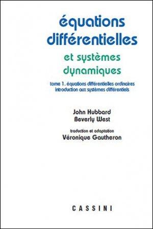 Equations différentielles et sytèmes dynamiques - volume 1-vuibert-9782842251109