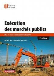 Exécution des marchés publics-le moniteur-9782281132106