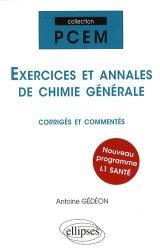 Exercices et annales de chimie générale