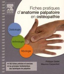 Fiches pratiques d'anatomie palpatoire en ostéopathie-elsevier / masson-9782294744617