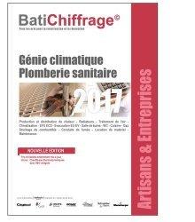 Génie climatique Plomberie sanitaire 2017-batichiffrage-9782358060929