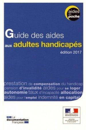 Guide des aides aux adultes handicapes-la documentation francaise-9782111450684