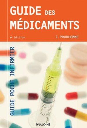 Guide des médicaments-maloine-9782224034931
