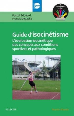 Guide d'isocinétisme-elsevier / masson-9782294745911