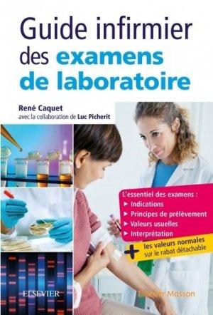 Guide infirmier des examens de laboratoire-elsevier / masson-9782294749063