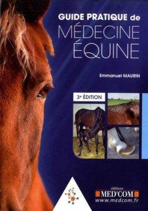 Guide pratique de médecine équine-med'com-9782354032487