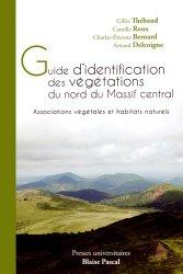 Guide d'identification des végétations du nord du Massif central
