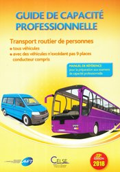 Guide de capacite professionnelle transport routier de personnes edition 2018