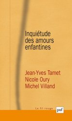 Inquiétude des amours enfantines-puf-9782130607403
