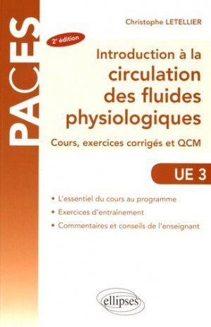 Introduction à la circulation des fluides physiologiques-ellipses-9782340017269