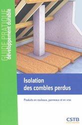 Isolation des combles perdus maxime roger 9782868914798 for Isolation de combles perdus