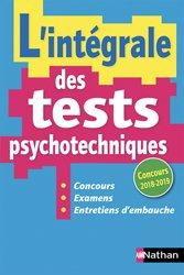 L'intégrale des tests psychotechniques - 2018