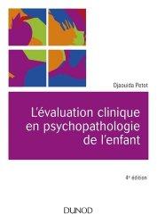 L'évaluation clinique en psychopathologie de l'enfant