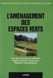 L'aménagement des espaces verts