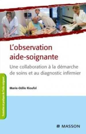 L'observation aide-soignante-elsevier / masson-9782294711060