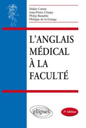 L'anglais médical à la faculté-ellipses-9782340000827