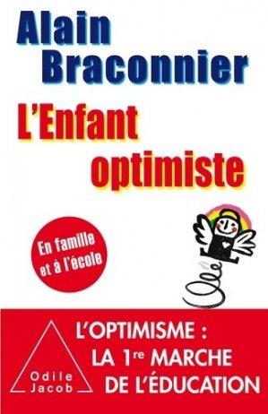 L'enfant optimiste-odile jacob-9782738132314