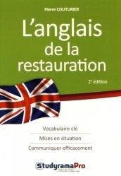 L'anglais de la restauration-studyrama-9782759032396