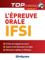 L'épreuve orale IFSI