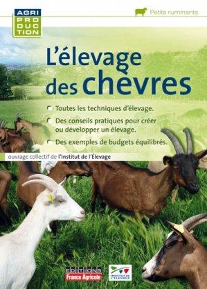 L'élevage des chèvres-france agricole-9782855572161