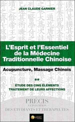L'esprit et l'essentiel de la médecine traditionnelle chinoise-ambre -9782940500505