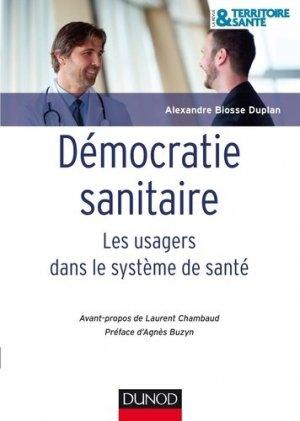 La démocratie sanitaire-dunod-9782100710188